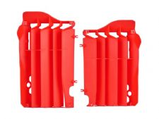 New Polisport CRF 250 R 14-15 Radiator Louvres Plastics Red Motocross